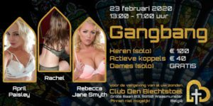 Gangbang: April Paisley | Rachel | Rebecca Jane Smyth